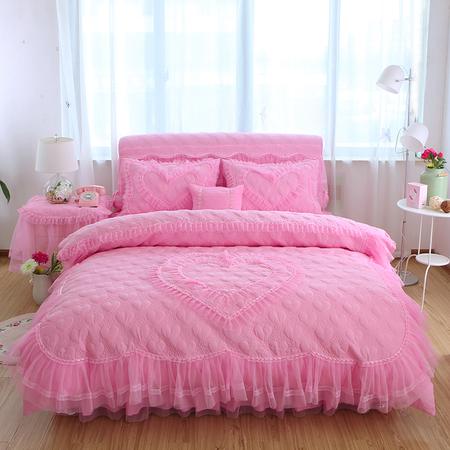 爱恋粉色四件套