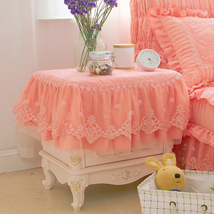 梦幻玉色床头柜罩